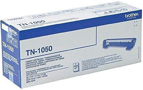 Brother TN1050 - Tóner original para las impresoras HL1110 ...