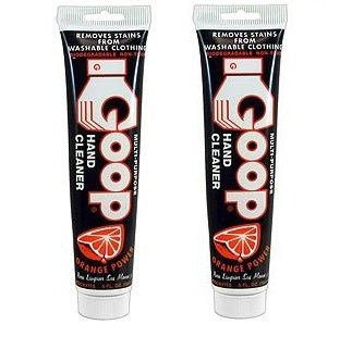 2-Pack Goop Multi Purpose Hand Cleaner- Orange Power (5 oz Tube)