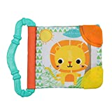 BRIGHT STARTS Teethe and Read Teether Book, Styles may vary, (Only 1 Teether)