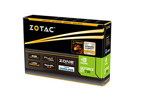 ZOTAC GT Zone 2GB DDR3 PCI HDMI Graphics