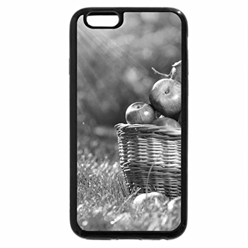 iPhone 6S Plus Case, iPhone 6 Plus Case (Black & White) - Apple a Day Keeps the Doctor Away