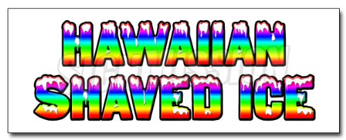 12-hawaiian-shaved-ice-decal-sticker-hawaian-cart-stand-icee-icy
