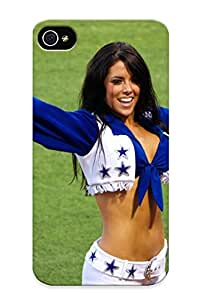 Awesome Dacc1a32738 Rightcorner Defender Tpu Hard Case Cover For Iphone 4/4s- Dallas Cowboys Nfl Football Cheerleader