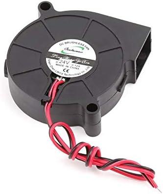 50x50x15mm Brushless DC Cooling Blower Fan 5015 50x50x15mm Mute Sleeve Bearing Sala-Deco