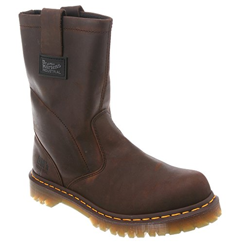 Dr. Martens Men's 2296 NS Wellington Rigger Boot Gaucho Volcano 7 UK
