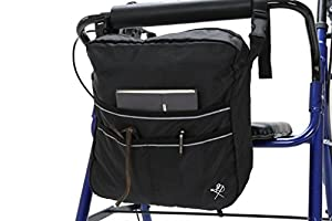 Pembrook Wheelchair Mobility Bag - Great simple accessory pack for your mobility devices. Fits most Scooters, Walkers, Rollators - Manual, Powered or Electric Wheelchairs from Pembrook