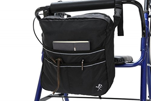 - Pembrook Wheelchair Mobility Bag - Great simple accessory pack for your mobility devices. Fits most Scooters, Walkers, Rollators - Manual, Powered or Electric Wheelchairs
