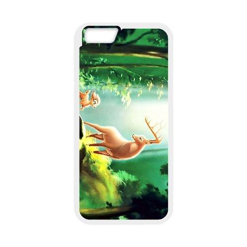 Bambi 011 coque iPhone 6 4.7 Inch cellulaire cas coque de téléphone cas blanche couverture de téléphone portable EOKXLLNCD26029