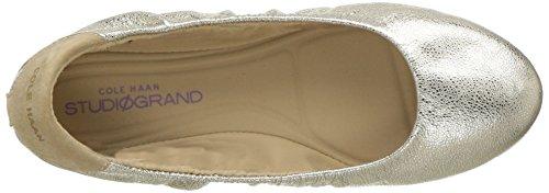 Haan Studiogrand Women's Black Flat Convertible Glitter Platino Ballet Cole Pw7nxH7