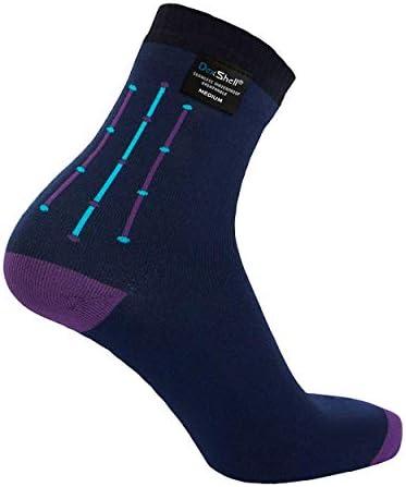 Dexshell Outdoor Wander wasserdichte Socken Blau Bambus Rayon Viskose