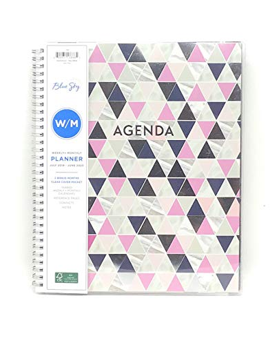 July 2019-June 2020 Academic Weekly/Monthly Planner 8.5
