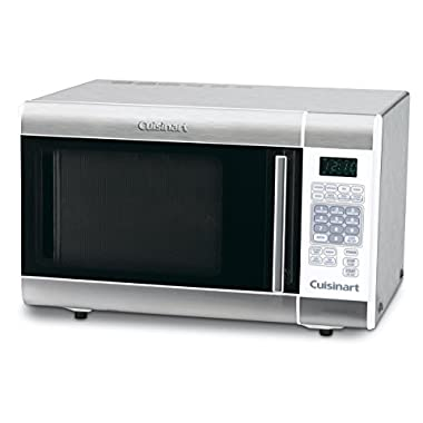 Cuisinart CMW-100FR 1-Cubic-Foot Stainless Steel Microwave Oven, Silver (Certified Refurbished)