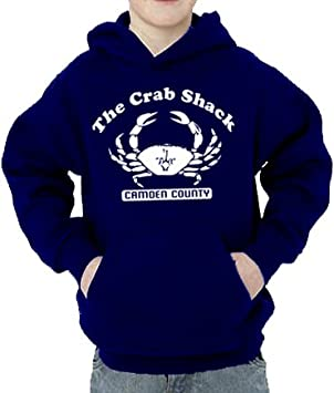My Name Is Earl Crab Children Hooded Sweatshirt Navy 152164