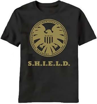 Agents of SHIELD S.H.I.E.L.D. Shirt T-Shirt Merchandise Avengers T-Shirt Small