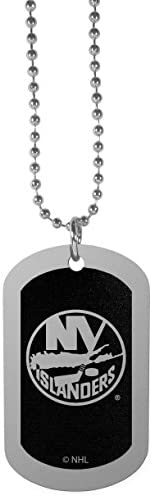 NHL Unisex Chrome Tag Necklace