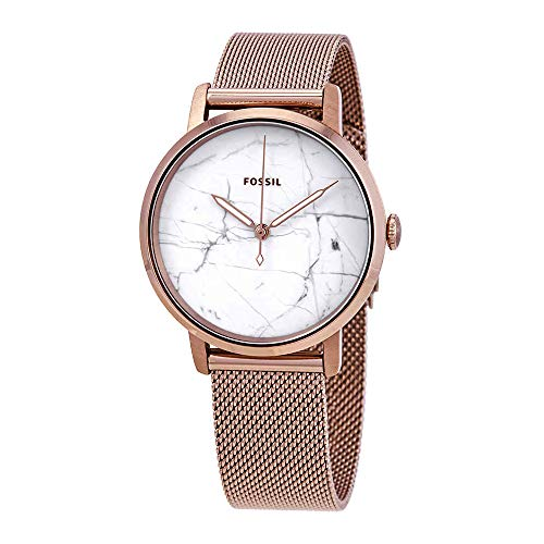 (Fossil Women's 'Neely' Quartz Stainless Steel Casual Watch, Color:Pink (Model: ES4404))