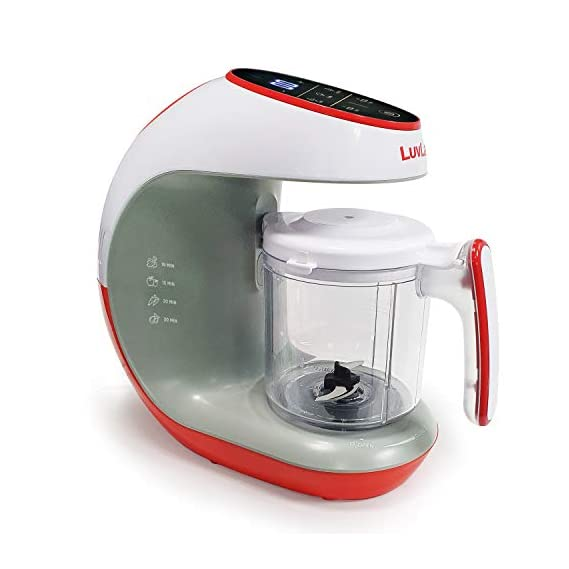 LuvLap Regal Advanced+ Baby Food Processor, Ideal for Baby Food, BPA Free
