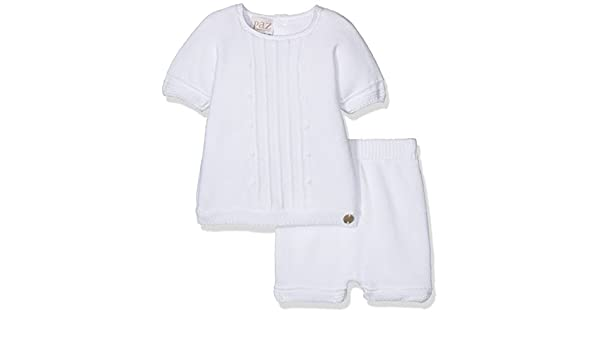 PAZ Rodriguez 103-92148, Ropa de Bautizo para Bebés, Blanco 3M: Amazon.es: Ropa y accesorios