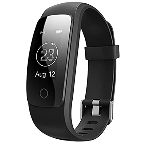 Amazon.com : TOOGOO(R) Smart ID107Plus HR Heart Rate ...