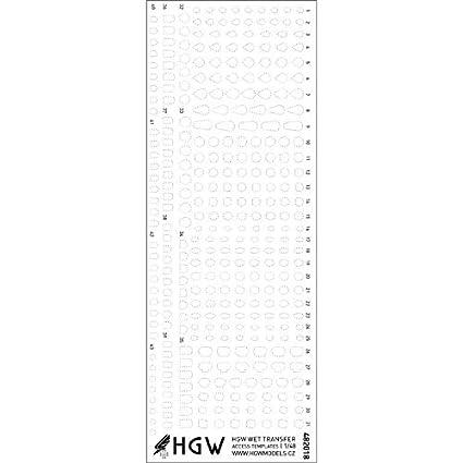 Amazon.com: HGW 482018 - Plantillas de acceso a escala 1/48 ...