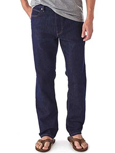 Patagonia M's Performance Regular Fit Jeans Reg Pantalón, Hombre dark denim