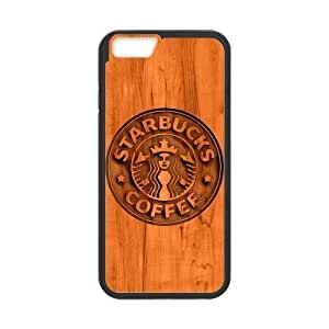 Caitin Starbucks Coffee Wood Background Pic Cell Phone Cases Iphone 5/5S