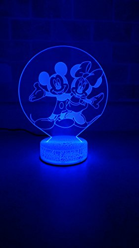 Mickey Mouse Led Night Light in US - 9