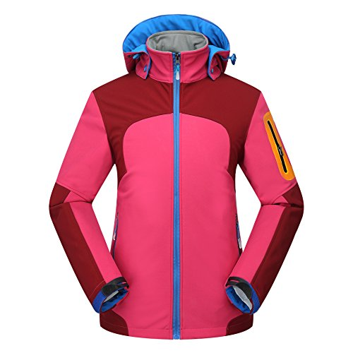 Coat Jacket JACKETS Red Hat Down FYM Women Warm Men DYF Long Sleeves Zipper Pocket Ski fZYxqwI