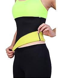 SAYFUT Hot Sweatsuits Waist Tummy Body Shaper Belt Waist Fitness Girdle Sport