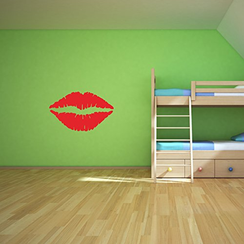 Kiss-Wall-Decal-Sticker-Kissing-Lips-Decoration-Mural-Decal-Stickers-and-Mural-for-Kids-Boys-Girls-Room-and-Bedroom-Kiss-Tomato-Red-Wall-Art-for-Home-Decor-and-Decoration-Silhouette-Mural