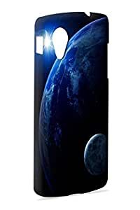 Case Fun Case Fun Blue Planet Earth Snap-on Hard Back Case Cover for Google Nexus 5