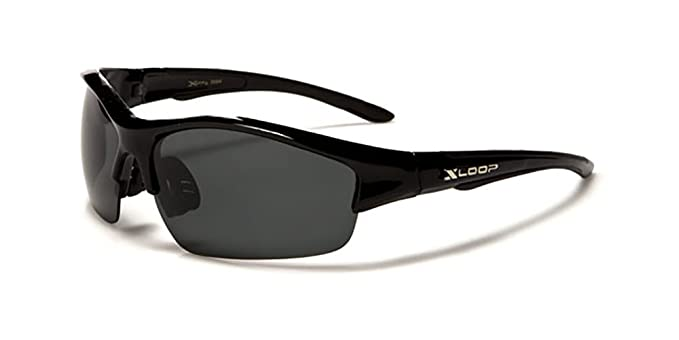 X-Loop 'Aurora' Lunettes de Soleil Polarisées - Sport - Cyclisme - Ski - Conduite - Moto - Taille Unique Adulte / Protection 100% UV400 (Verre Polarisé) 8u1wpj