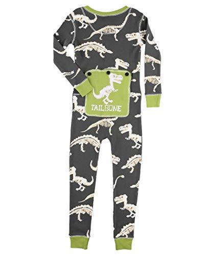 Ex Stinked Kids Flapjack Onesie Pajamas by LazyOne | Adult Kid Infant Dog Family Matching Pajamas (4T)