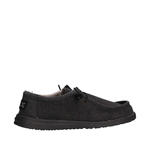 Hombres Wally Shoes Negro Dude Clásico Negro azabache zUnwq