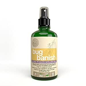Baxter's Naturals Bug Banish Natural Mosquito Repellent Spray, 8 Ounce