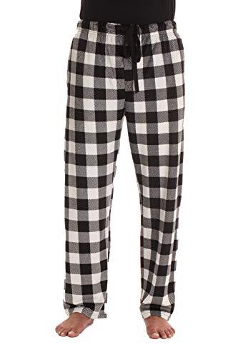 #followme Fleece Pajama Pants for Men Sleepwear PJs 45903-1B-3XL (Flannel Sheets Tartan)