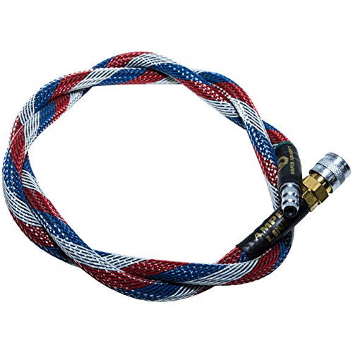 AMPED Airsoft Amped Line   Heavy Weave for PolarStar, Wolverine, and Redline HPA Units 42 Inch Patriot Heavy