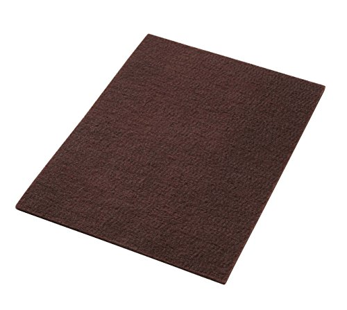 - Americo Manufacturing 42151428 Maroon Wood Floor Conditioning Floor Pad Rectangle (10 Pack), 14