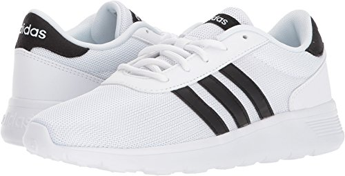 Originals Adidas Shoes Classic (adidas Originals Women's Lite Racer Running Shoe, White/Black/White, 9 M US)