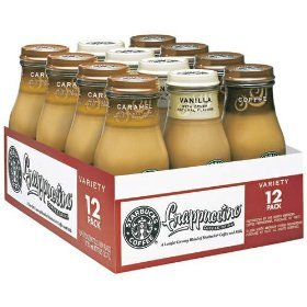 Starbucks Coffee Frappuccino Variety Pack 9.5 oz Bottles (12 Pack)
