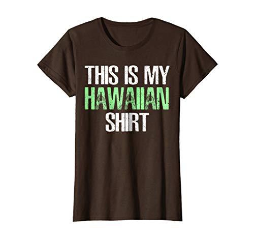 This Is My Hawaiian T-Shirt Funny Hawaii Gift TShirt