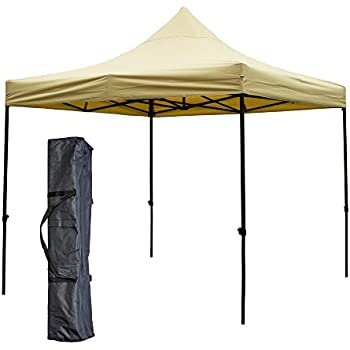 SNAIL 10 x 10 ft Outdoor Waterproof Heavy Duty Pop Up Canopy with Carry Bag Portable  sc 1 st  Amazon.com & Amazon.com : Abba Patio Shade Canopy 10 x 10 Feet Heavy Duty Pop ...