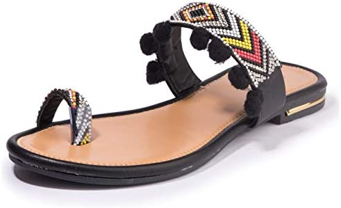 4d31a7e0e68fb Khadims Cleo from Women s Black Ethnic Flat Sandal - 4  Buy Online ...