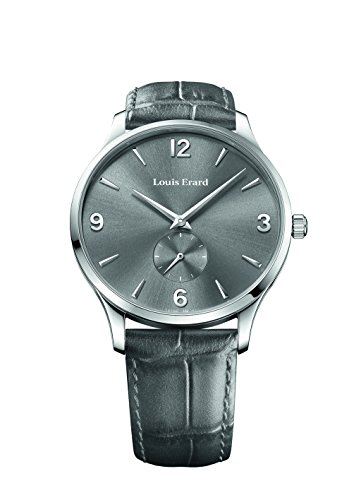 Louis Erard 1931 Collection Mechanical Hand Winding Grey Dial Mens Watch 47217Aa03 Bep02