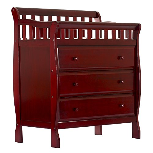 Dream On Me Marcus Changing Table and Dresser (Baby Dressers Cherry)