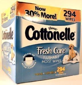 Cottonelle Fresh Care Flushable Moist Wipes - 294 ct.
