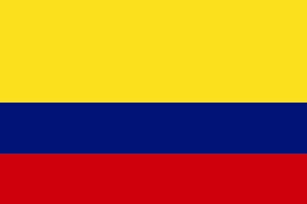 U24 Fahne Flagge Kolumbien Stiefelflagge Premiumqualität 120 x 180 cm