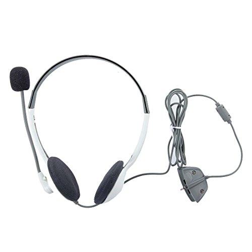 best SODIAL(R) Headphone Headset Mic Earphone for Microsoft XBOX 360