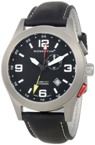 Momentum Men's 1M-SP58B2B Vortech Analog GMT Function Alarm Watch