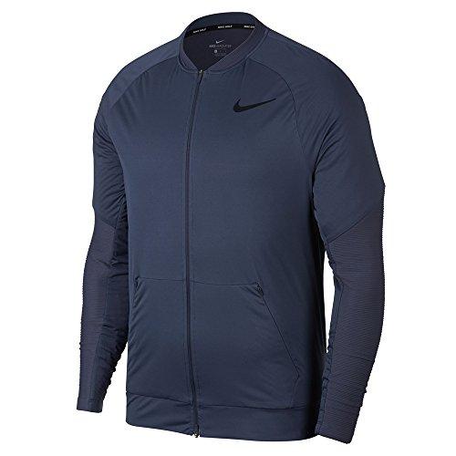 Nike Men's AeroLayer Golf Jacket (Thunder Blue/Black, XX-Large)